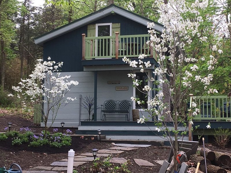 Rare Tiny House: The perfect writer's retreat in Bucks County, PA, alquiler vacacional en Upper Black Eddy