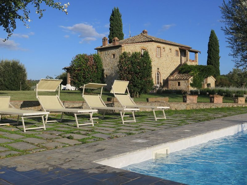 Luxury Villa  In South Tuscany, Podere San Giuseppe., holiday rental in Petroio
