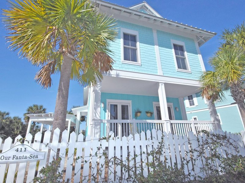 'Our Fanta-Sea' at Carillon Beach ~ Lakefront Home Steps from Gulf of Mexico!, vacation rental in Carillon Beach