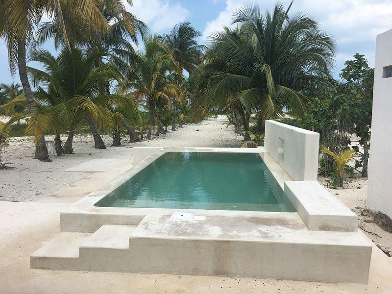 Casa del Palmar, in the beach,Telchac Puerto Yucatan, holiday rental in Telchac Puerto