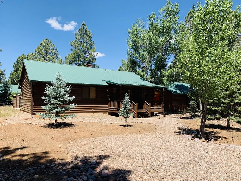 Elk Ridge Cabin located in Bison ranch . We are in the White Mountains, holiday rental in Forest Lakes