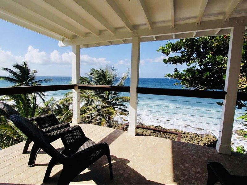 Shellnel No. 2--Stunning 1 Br/1Ba private waterfront paradise, location de vacances à Sainte-Croix