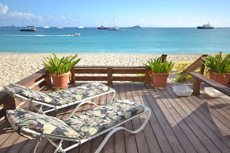 Private deck off balcony  (2)