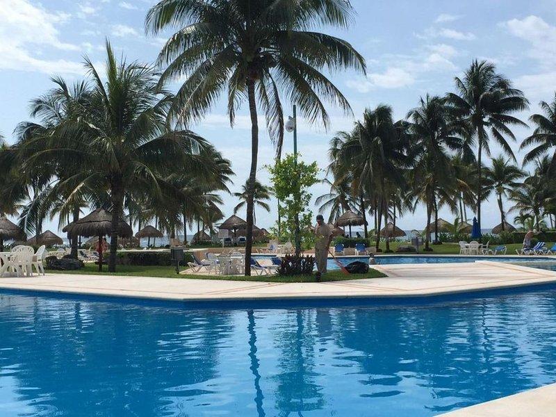 Beachfront, Villas del Mar, Puerto Aventuras, Mexico, Cancun, Playa del Carman, Ferienwohnung in Puerto Aventuras