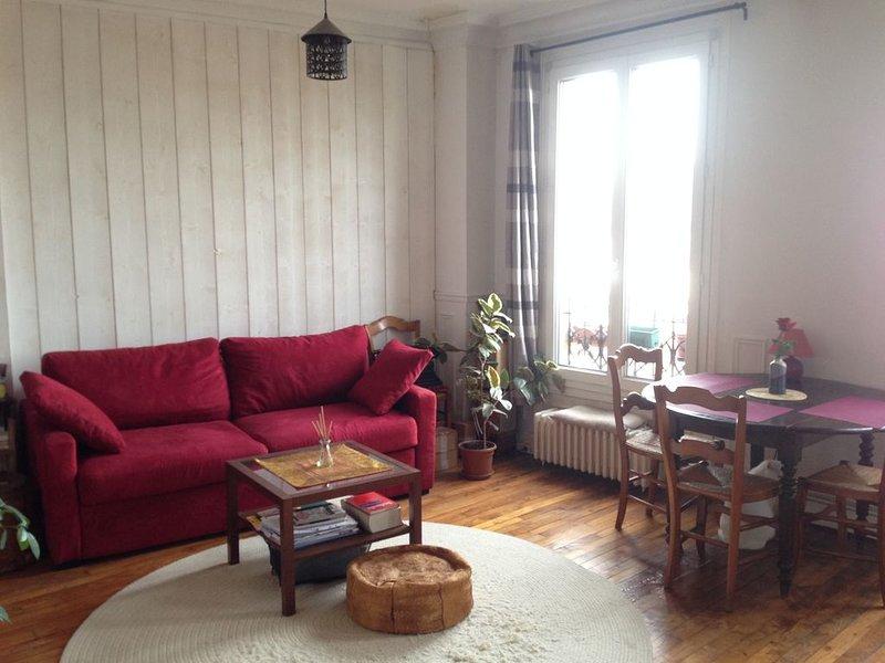 Welcome Home! Cozy, bright, parkside, location de vacances à Seine-Saint-Denis