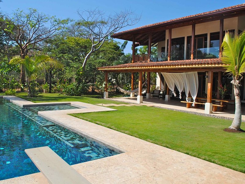Luxury Oceanfront Home-the best beach view in Hacienda Pinilla, vacation rental in Playa Avellanas