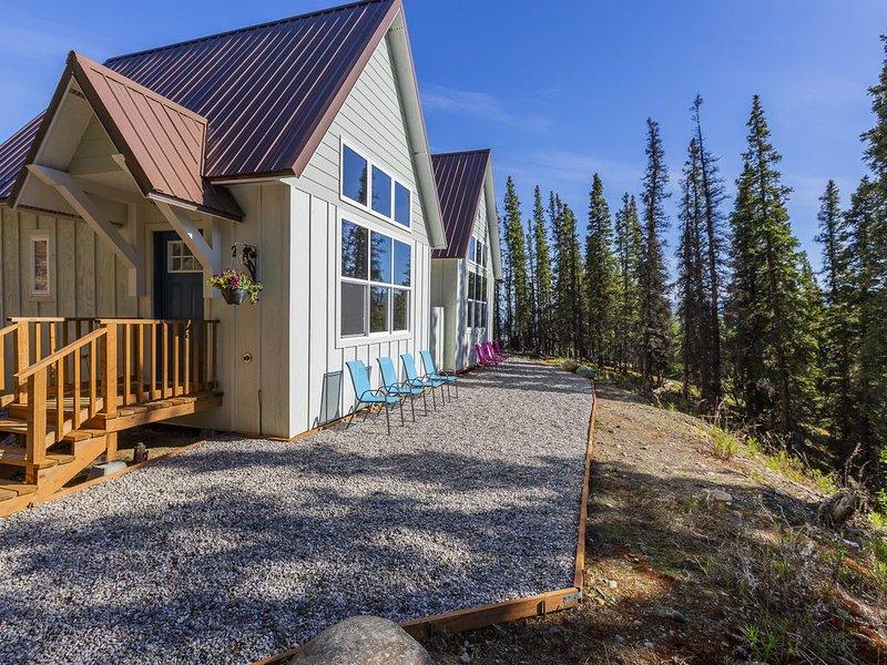 The Forget-Me-Not Cabin at Alpenglow Ridge, location de vacances à Parc national et réserve de Denali