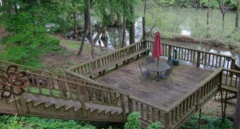 Riverwalk ~ On The Lower Mountain Fork River, holiday rental in Eagletown