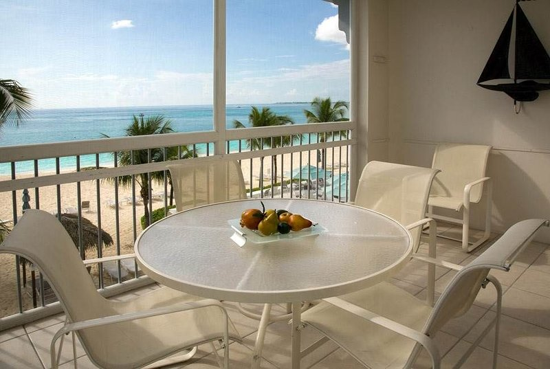 Luxury Cayman Island rental on Seven Mile Beach | Beachfront Condo #15, holiday rental in West Bay