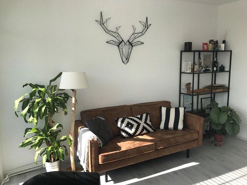 Appartement de deux chambres avec espace proche autoroute, location de vacances à Geruge