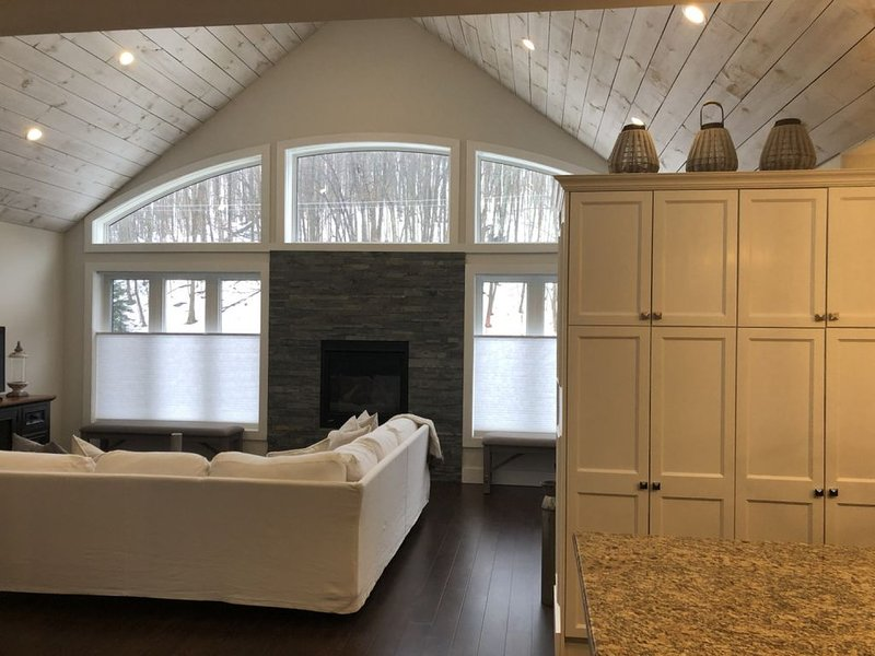 New cottage minutes to Thornbury,Blue Mountain,Georgian Bay . 5 Bedrooms 4 Full – semesterbostad i Owen Sound