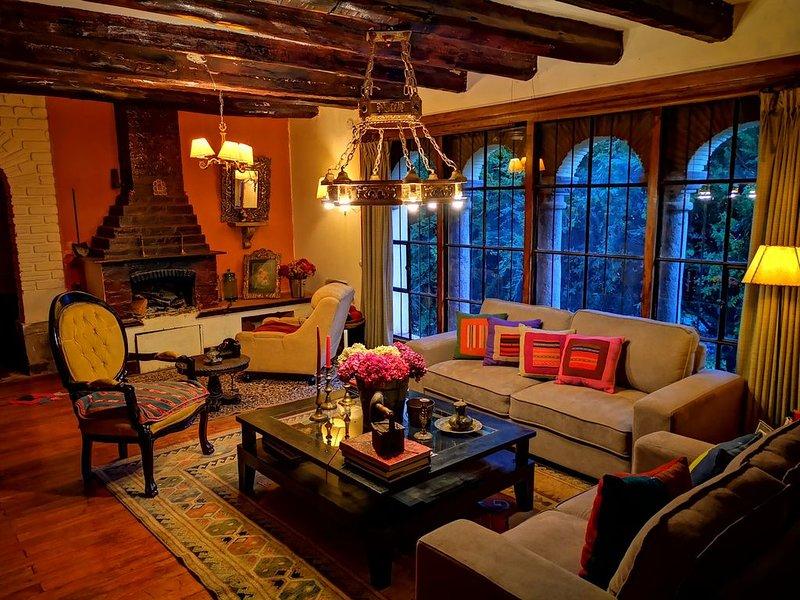 Casa hacienda Inka Tambo, holiday rental in Lamay