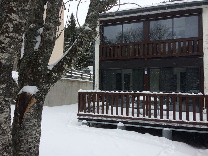 DUPLEX 8 personnes classé 3* à 200ml des pistes et départ des randonnées, holiday rental in Lascelle