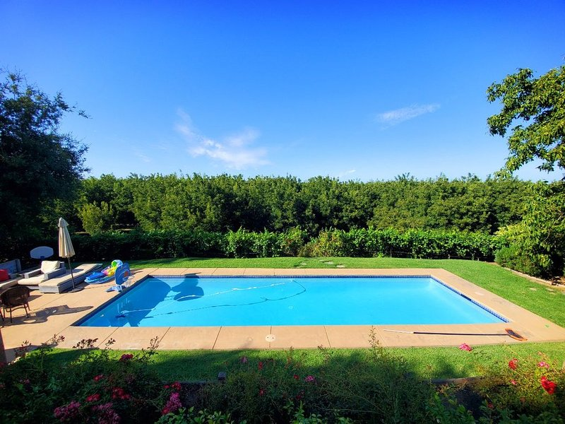 Sip, Swim, Sleep Escape(within minutes from wineries, downtown Lodi), holiday rental in Stockton