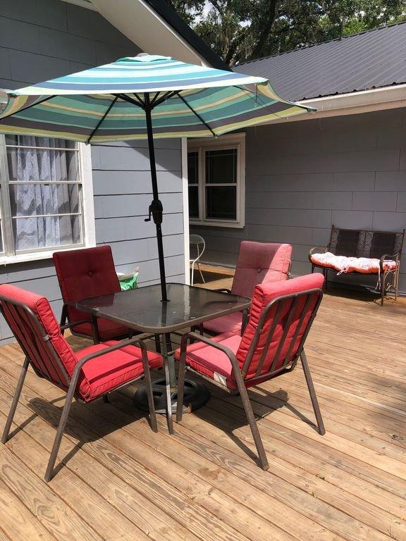 Mesa / sillas de cubierta