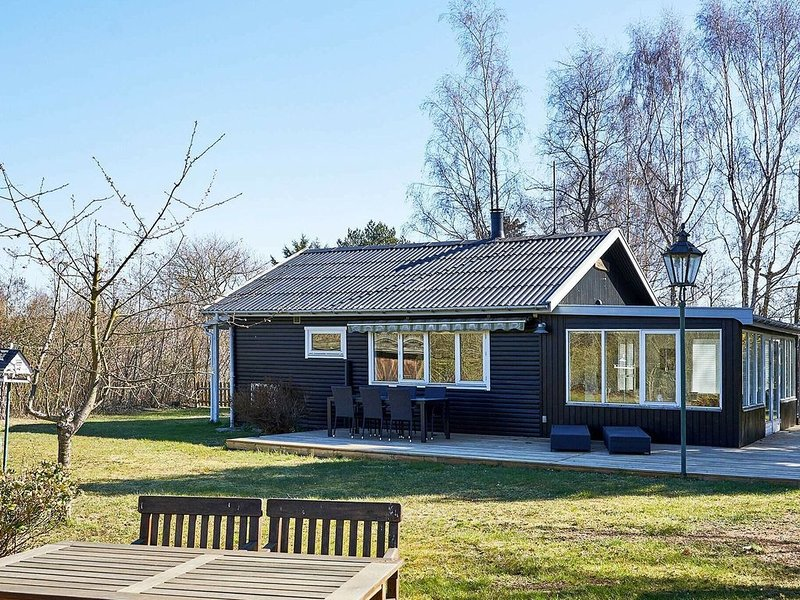 Peaceful Holiday Home in Bornholm With Terrace, vacation rental in Roenne