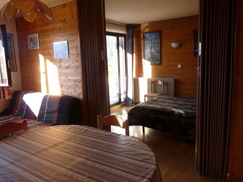 Appartement ensoleillé face aux Pyrénées, holiday rental in Saillagouse