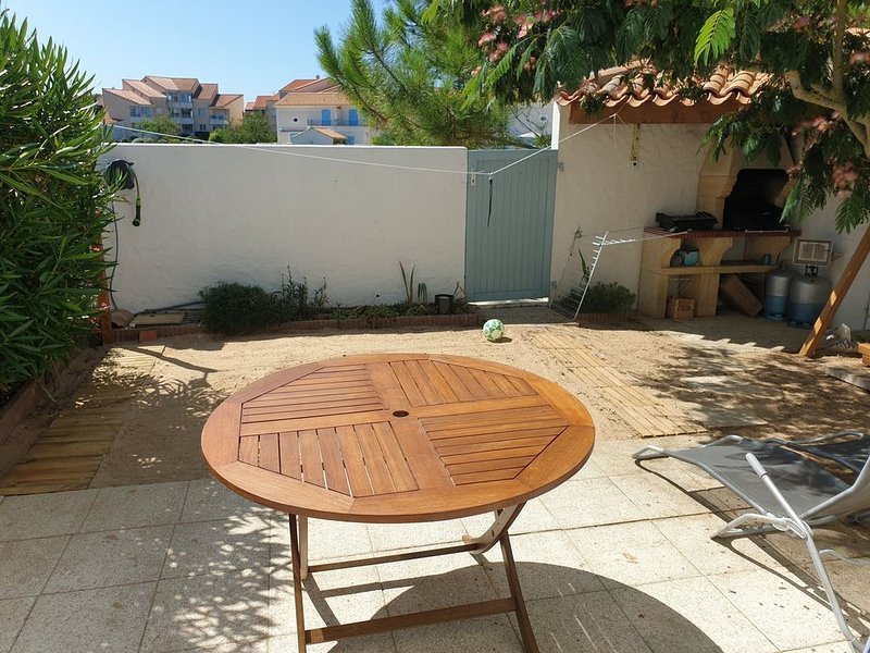 terrace and plancha