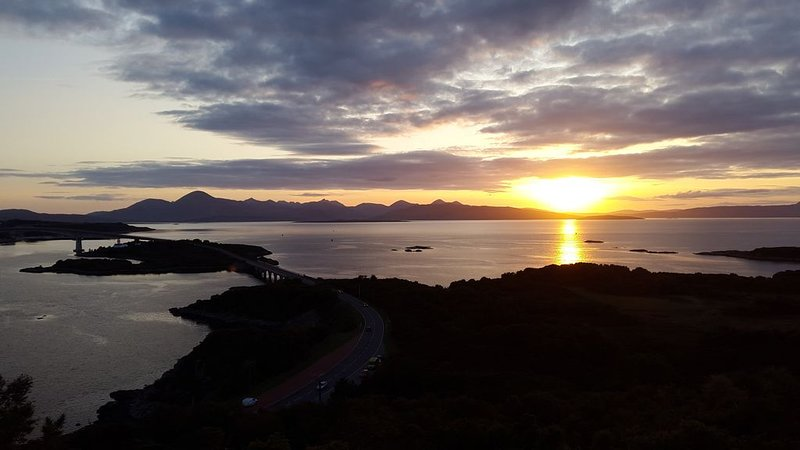 View to Skye from close to our house