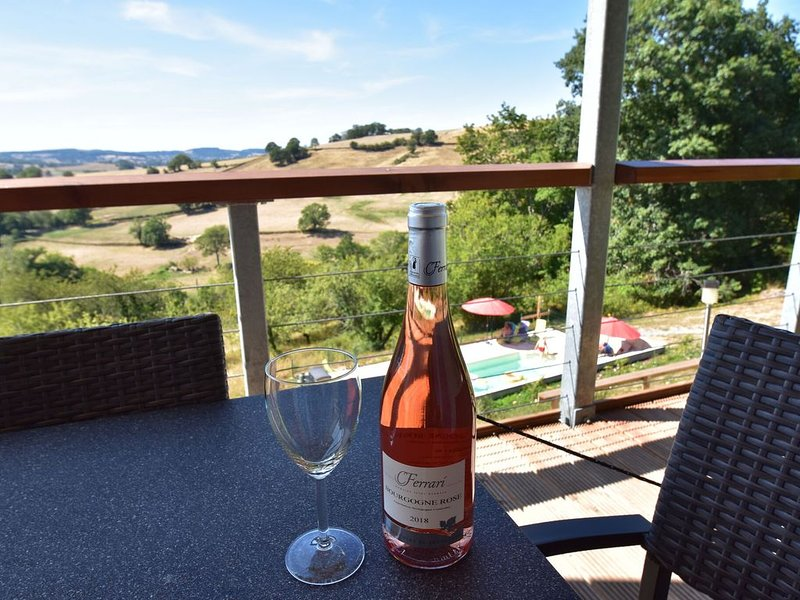Splendid Mansion in Cuzy with Swimming Pool, vacation rental in Saint-Didier-sur-Arroux
