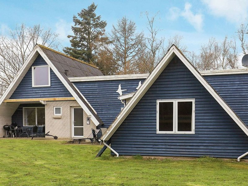 Spacious Holiday Home in Jutland Near the Fjord, Ferienwohnung in Vile