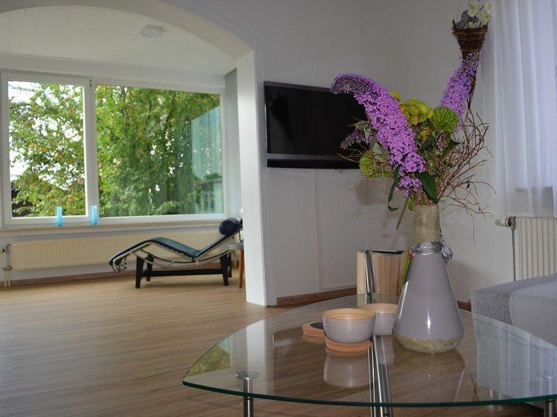 125 m² City-Wohnung am Obermarkt mit Blick in die Alpen, alquiler de vacaciones en Ohlstadt