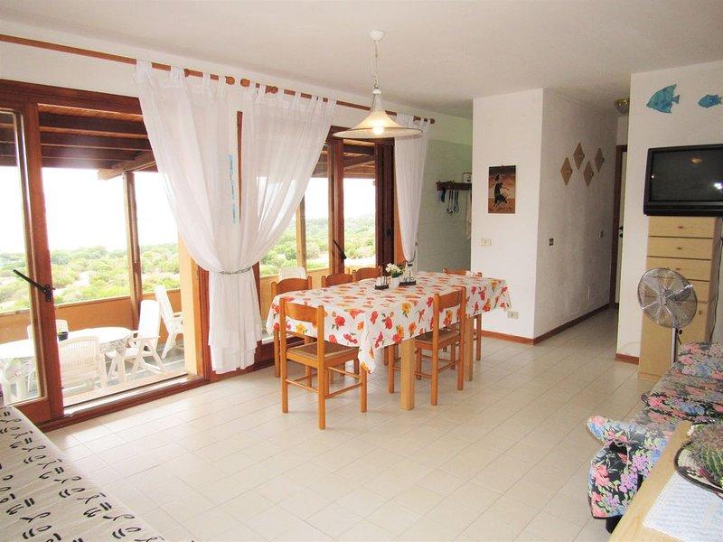 Appartamento con vista mare Costa Smeralda, holiday rental in Portisco