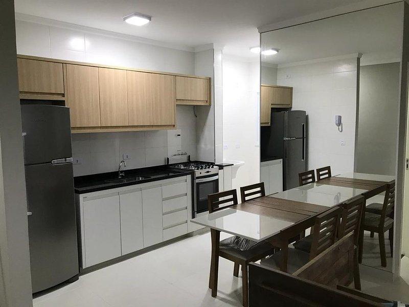 Apartamento Ubatuba - Vista para Baia do Itaguá com acesso, casa vacanza a Ubatuba