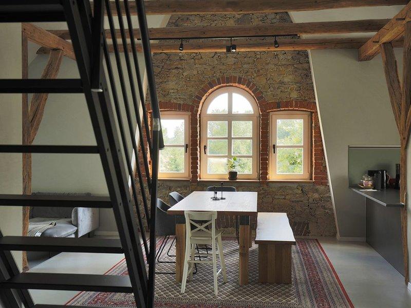 Entspannen auf dem Land  Großzügige Wohnung mit Sauna, holiday rental in Bad Lippspringe