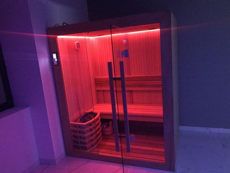 Appartement de Luxe avec jacuzzi, sauna et hammam, Ferienwohnung in Danjoutin