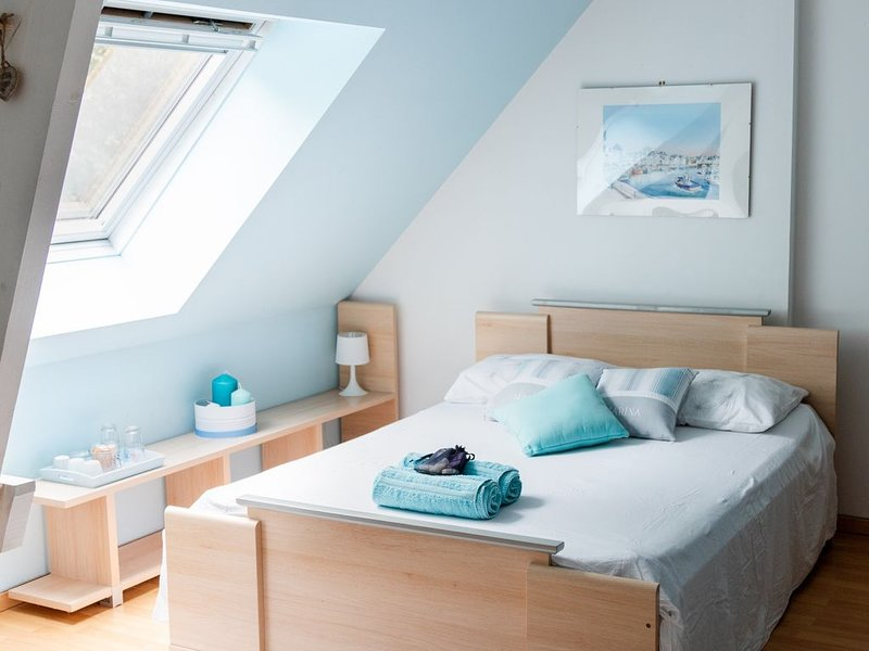 CHAMBRE BLEUE A LOUER, holiday rental in Marigne-Laille