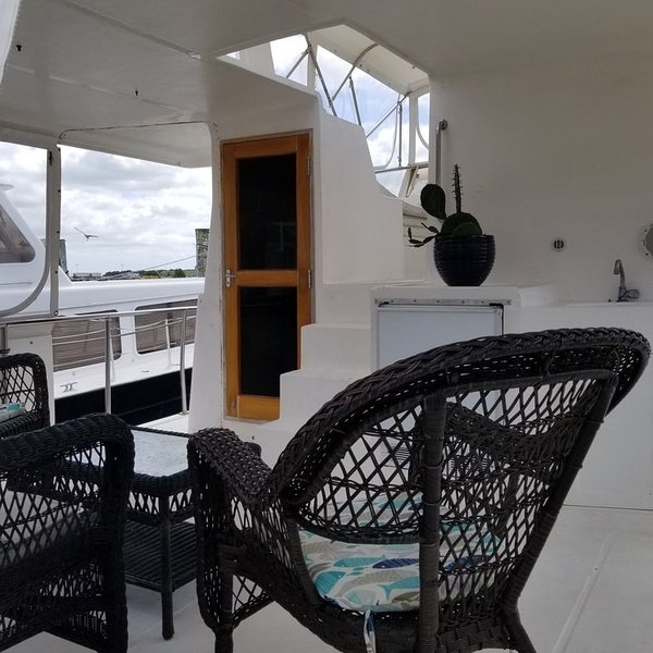 Houseboat Downtown Waterfront Morehead City, holiday rental in Morehead City
