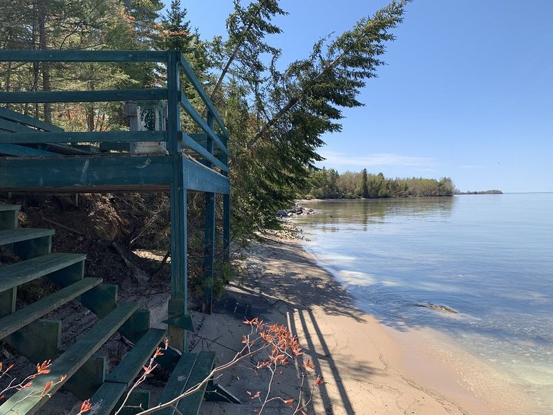 Lake Superior Waterfront home, holiday rental in Sault Ste. Marie