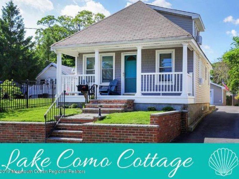 Pristine Lake Como/Belmar Beach Cottage - 5 blocks to Beach, vacation rental in Belmar