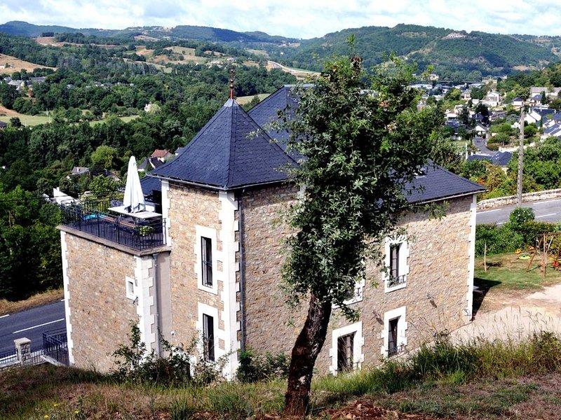 Gîte de la Vallée du Lot et aux portes de l'Aubrac, Ferienwohnung in Espalion