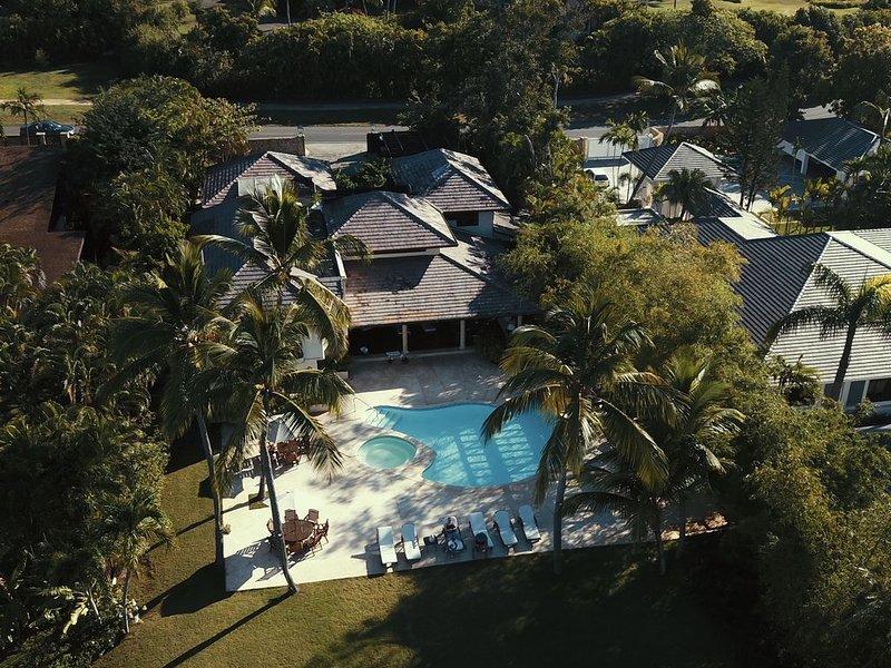 Vista aerea de la casa