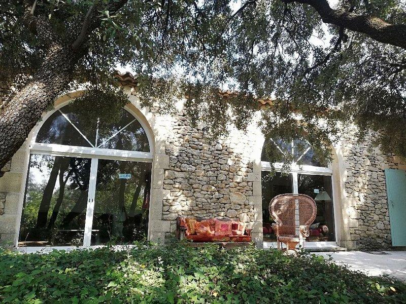 PontDuGard • Villa10personnes • Piscine • JardinXL, alquiler vacacional en Collias