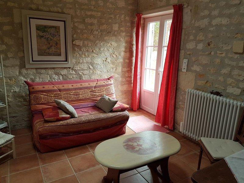 Les Vendanges Charmante maison pour 4 personnes, holiday rental in Saint Seurin de Palenne