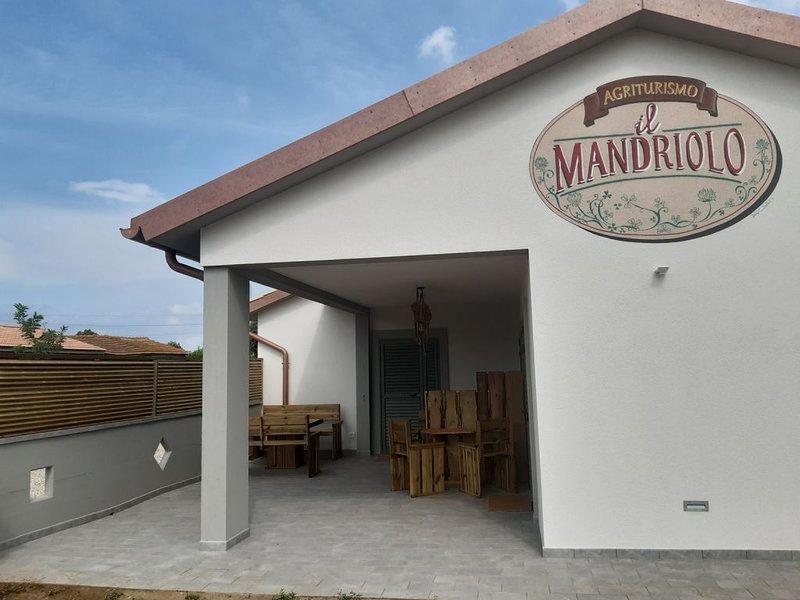 Appartamento Danza-Agriturismo Il Mandriolo-località il Cristo-Marina d Grosseto, alquiler de vacaciones en Marina Di Grosseto