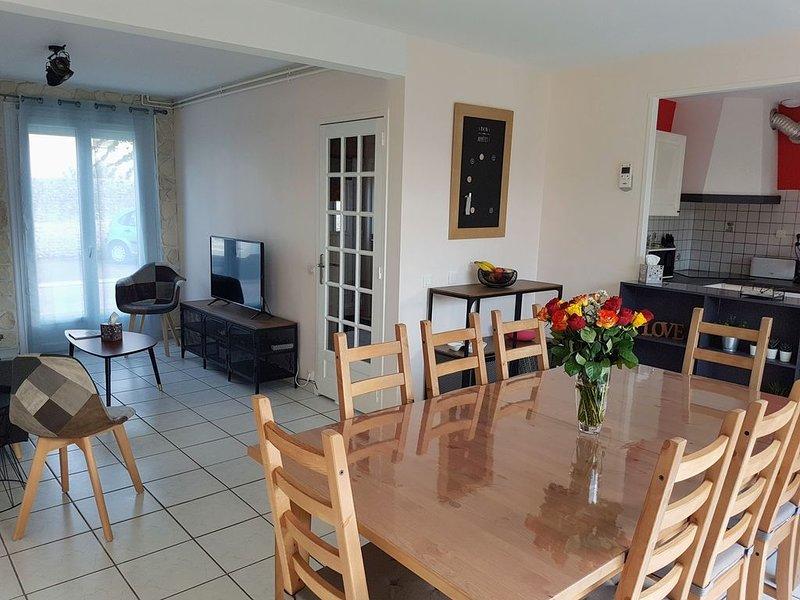 NOUVEAU - Maison centre-ville Bayeux 4 chambres avec jardin idéalement située, casa vacanza a Bayeux