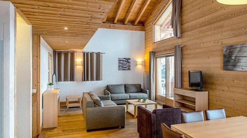 Résidence Les Portes du Grand Massif**** - 5 Pièces 10 Personnes, vacation rental in Flaine