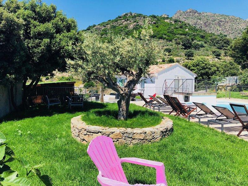 PROMO -60% - Villa CASANOVA**** Piscine Chauffée - Plage - Piscines Naturelles, location de vacances à Pietralba