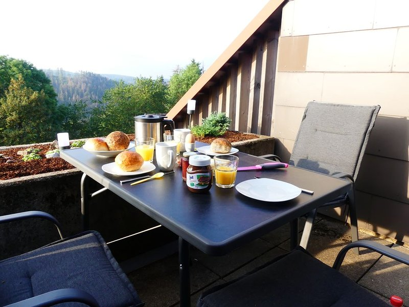 Traumblick Ferienwohnung, holiday rental in Lauenforde
