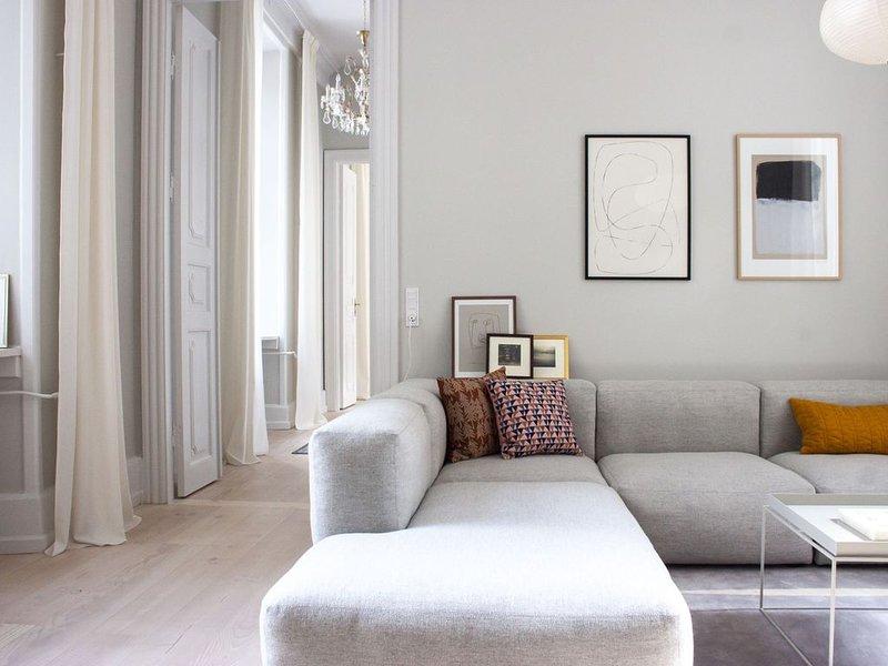 City Apartment in Kopenhagen mit 2 Schlafzimmern 6 Schlafplätzen, Ferienwohnung in Kopenhagen