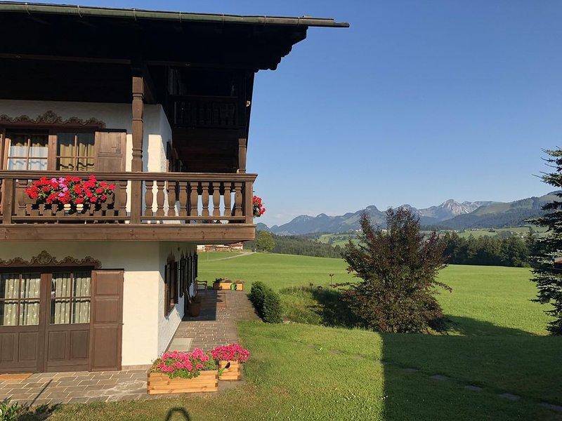 Exklusive Ferienwohnung mit Panoramablick, vacation rental in Reit im Winkl