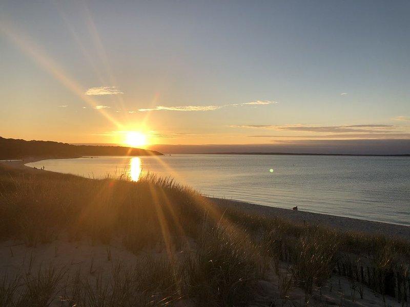 Sunset by Lambert's Cove