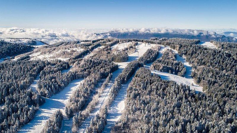 Este é o destino perfeito para as suas férias de esqui.