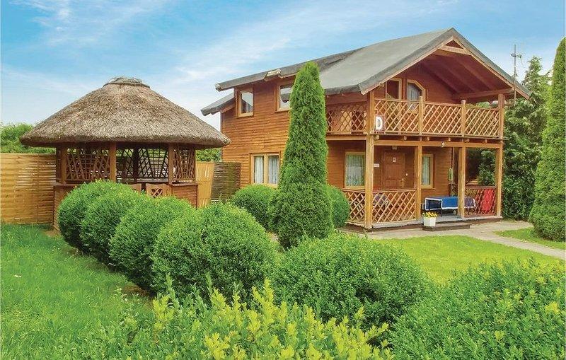 3 Zimmer Unterkunft in Zblewo, location de vacances à Pomerania Province