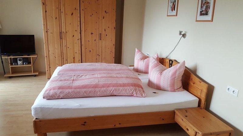 Ruhige Ferienwohnung (48qm) mit Hochterrasse, vacation rental in Zandt