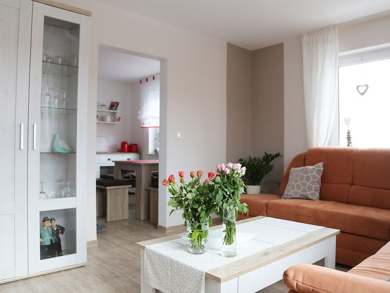Apartment Memmel - newly renovated with balcony-living room